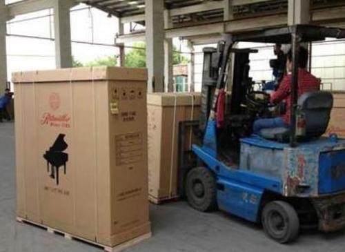 工廠設備打包貨運